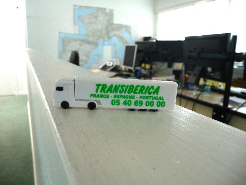 Goodies de la société de transport Transiberica