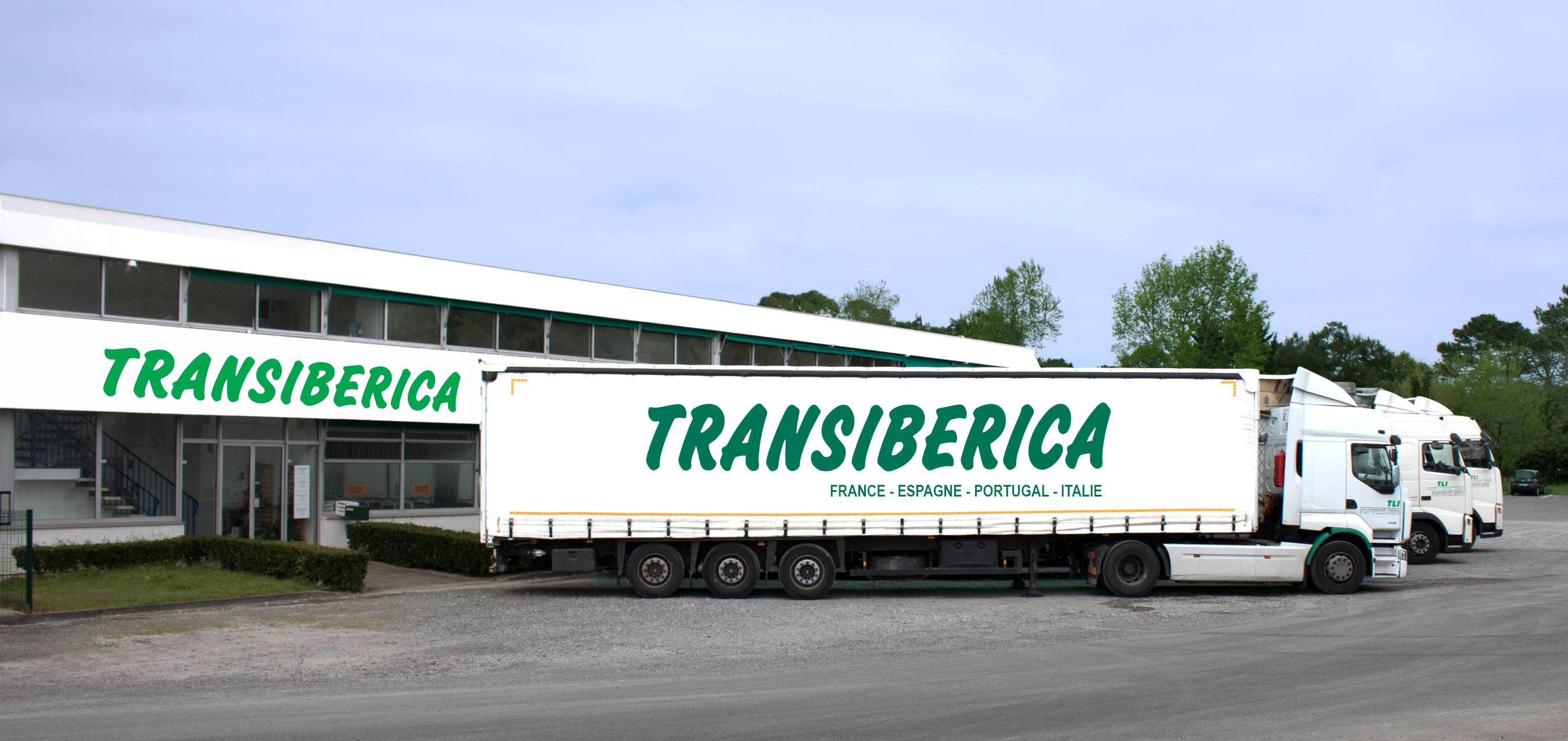 Siège social de l'entreprise de Transport routier Transiberica